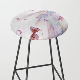 """""""Flash Dream ~ Butterflies"""" Bar Stool"""