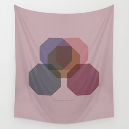 Rose Eight Wall Tapestry