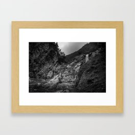 Trail end Framed Art Print