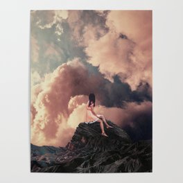 You came from the Clouds Poster