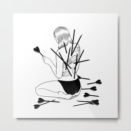 I fall in love too easily Metal Print