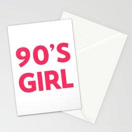 90's Girl Retro Saying Stationery Cards
