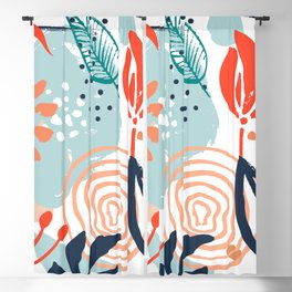 Essence of Spring Blackout Curtain