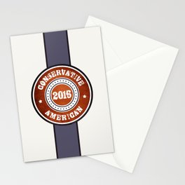 Conservative American Stationery Cards