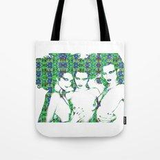 Models: Eniko, Abbey & Magdalena Tote Bag