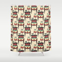 bedtime story pattern Shower Curtain
