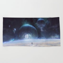 The Calling Beach Towel