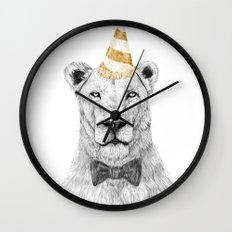 Get the party started (color) Wall Clock