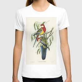 Rose-hill Parakeet (Platycercus eximius) illustrated by Elizabeth Gould (1804-1841) for John Goulds (1804-1881) Birds of Australia (1972 Edition 8 volumes) T-shirt