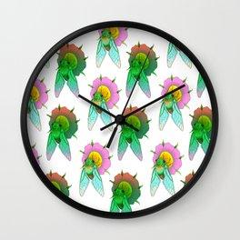 Cicadas Parade Wall Clock