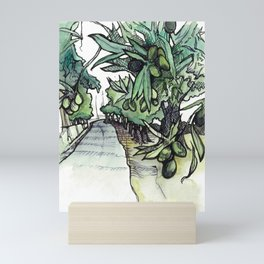 Olive Trees on the Camino Portugués  Mini Art Print