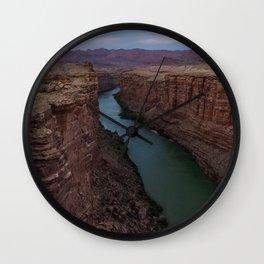 Colorado River Wall Clock