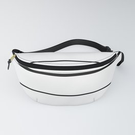 Volleyball Court Fanny Pack