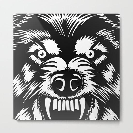 big bad wolf II Metal Print