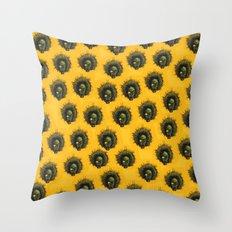 Voodoo Lady Throw Pillow