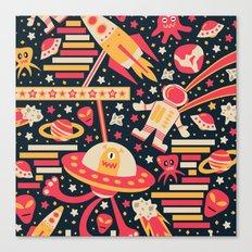 Alien Patterns Canvas Print