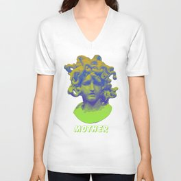 Medusa/Mother Unisex V-Neck