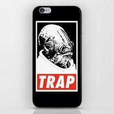 Obey Ackbar's TRAP iPhone & iPod Skin