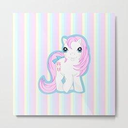 g1 my little pony baby Sundance Metal Print