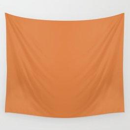 Pratt and Lambert 2019 Orange Berry (Pumpkin Orange) 24-16 Solid Color Wall Tapestry