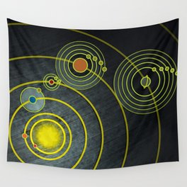GOLDEN RECORD Wall Tapestry