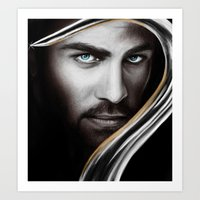 hook Art Prints featuring Hook by Svenja Gosen