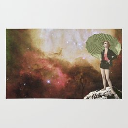 Lady in Space I Rug