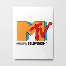 MTV / music television Metal Print