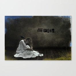 Suppression Canvas Print