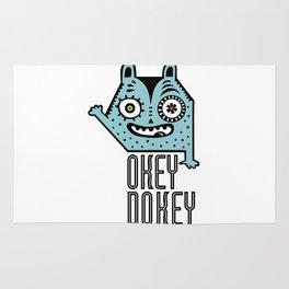 Okey Dokey Monster Rug