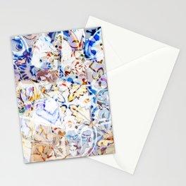Mosaic of Barcelona VIII Stationery Cards