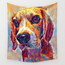 Beagle 3 Wall Tapestry