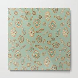 Happy sea anemones Metal Print
