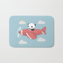 Kawaii Cute Panda Flying Bath Mat