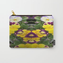 Pansy Surprise! Carry-All Pouch