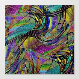 the weavers nightmare Canvas Print