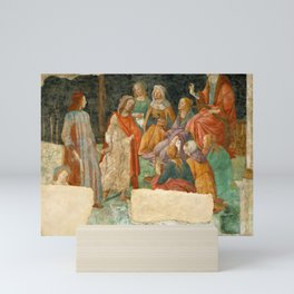 """Sandro Botticelli """"A young man introduced to the Liberal Arts"""" Mini Art Print"""