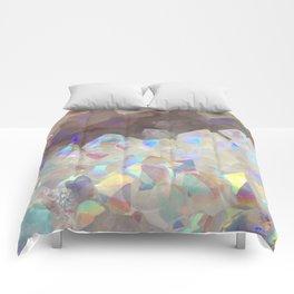 Iridescent Aura Crystals Comforters