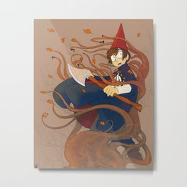 Over the Garden Wall - Wirt Metal Print