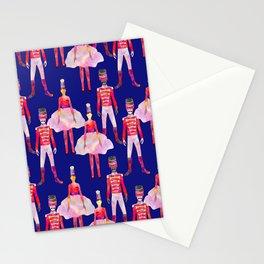 Nutcracker Ballet - Sapphire Blue Stationery Cards