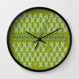 knitknots Wall Clock