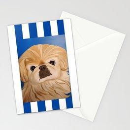 Peke Stitch Stationery Cards