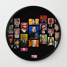 Underwood 2016 Season 2 Wall Clock