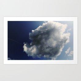Big Cloud Art Print