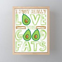 Avocado is Love Framed Mini Art Print