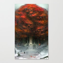 Tree of Duality Canvas Print