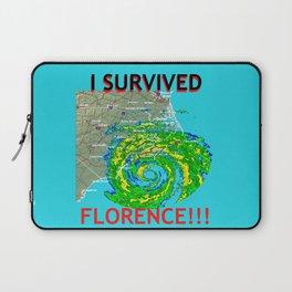 I Survived Hurricane Florence!!! Laptop Sleeve