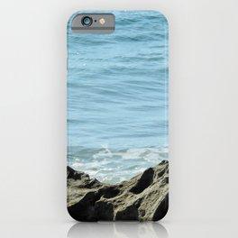 rocks at Santa lucia beach iPhone Case