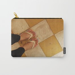 Footsteps in Tuol Sleng Carry-All Pouch