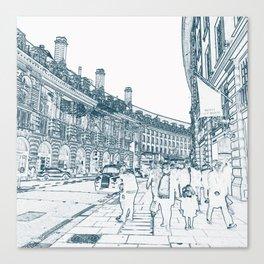 London Regent Street Canvas Print